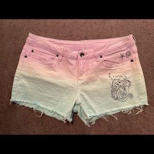 Hot Topic Little Mermaid Shorts